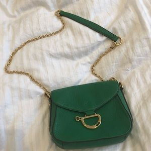 Lauren by Ralph Lauren green purse